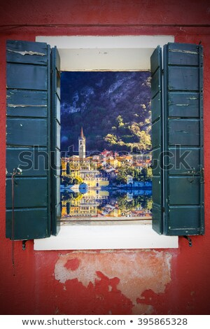 коллаж Италия фотографий здании саду окна Сток-фото © gant