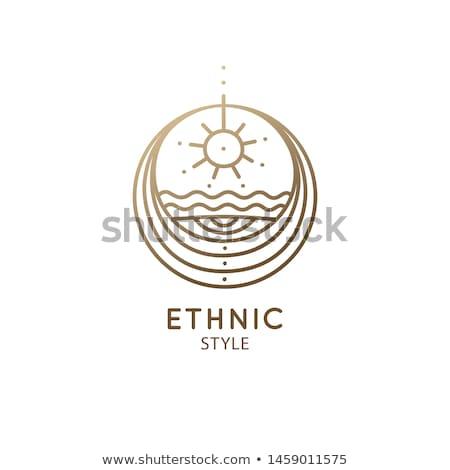 tribales · equilibrio · hermosa · África · indígena · moda - foto stock © phakimata