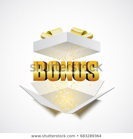 Kelime bonus renkli harfler tahta para Stok fotoğraf © bbbar