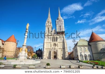 Zagreb's Cathedral Stock photo © blanaru