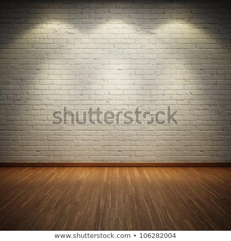 Escuro vintage tijolo quarto edifício Foto stock © vkraskouski