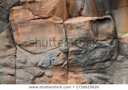 Lava steen vulkanisch textuur detail la Stockfoto © lunamarina
