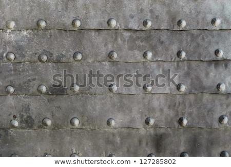 Wyblakły metal płytki projektu przemysłowych Zdjęcia stock © haraldmuc