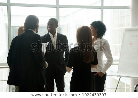 businessman and businesswoman having a discussion Stock photo © photography33