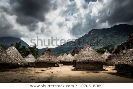 Indigenous Village Stock photo © jkraft5