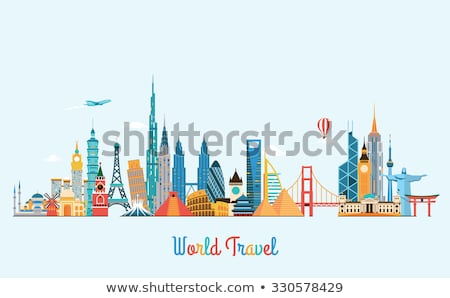 Global tourist Stock photo © Lightsource