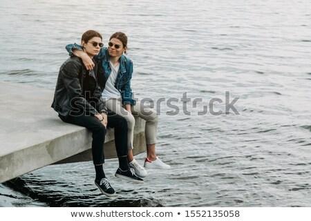 two brother twin stock photo © vladacanon