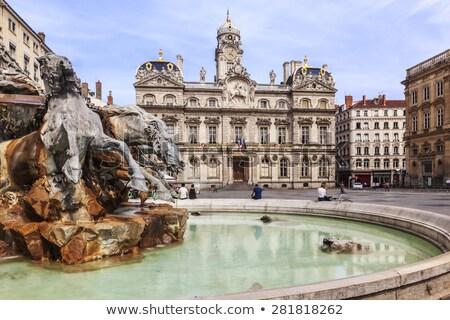 The famous Terreaux square Stock photo © vwalakte