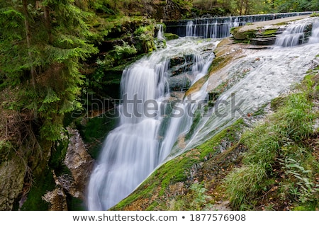 Szklarka Waterfall Stock photo © rafalstachura