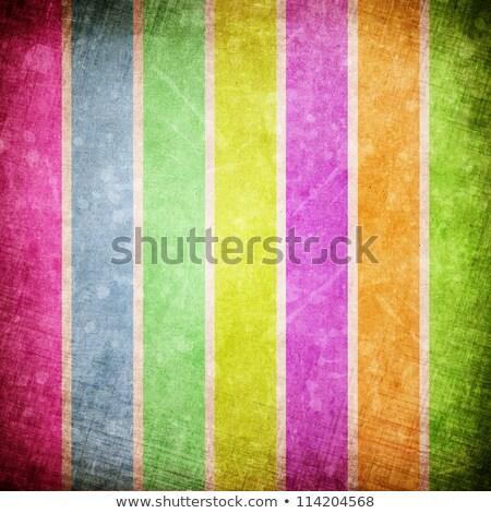 grunge · kleur · groene · Blauw · bladeren - stockfoto © Allegro
