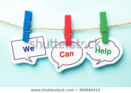 Stock photo: Problems we can help