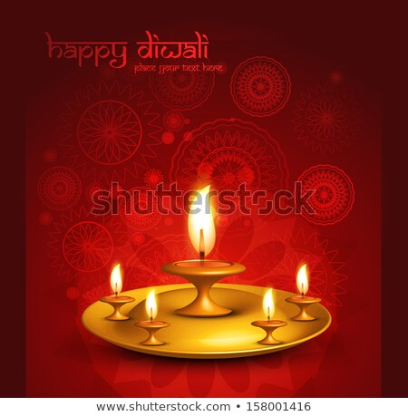 Feliz diwali belo festival abstrato luz Foto stock © bharat