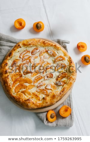 apricot dessert stock photo © m-studio
