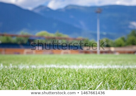 futebol · sol · saltar · diversão · bola · jogo - foto stock © francis55