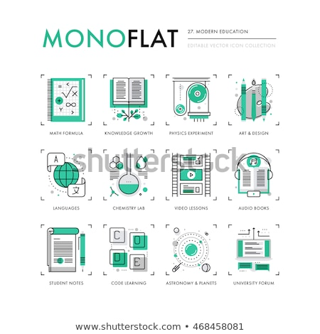 Translate Concept in Flat Design. Stock photo © tashatuvango