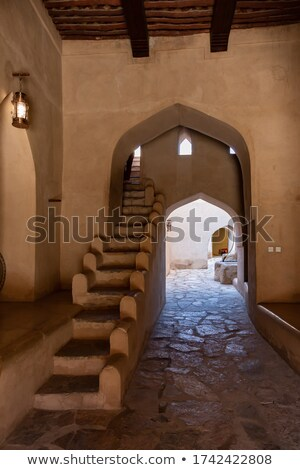 restored passageway in old fortress stock photo © taviphoto