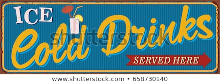 Foto stock: Ice Cold Drink