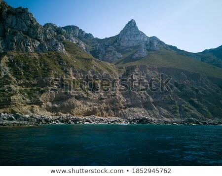 Tengerpart részlet szent sapka víz tájkép Stock fotó © marekusz
