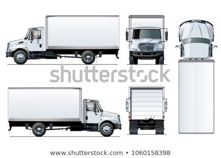 Box On A Truck Stock fotó © Mechanik