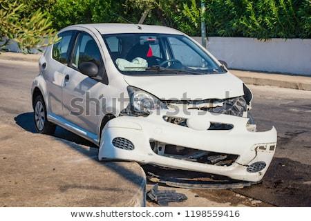 Araba kaza kamyon yol sokak Stok fotoğraf © cteconsulting
