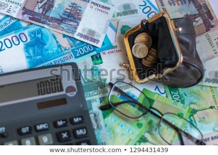 Crisis financiera Rusia financieros bancario economía crisis Foto stock © motttive