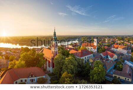 Beautiful view of old orthodox church in Belgrade Stock photo © tannjuska