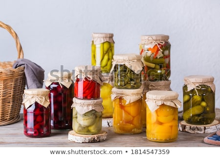homemade pickles Stock photo © wxin