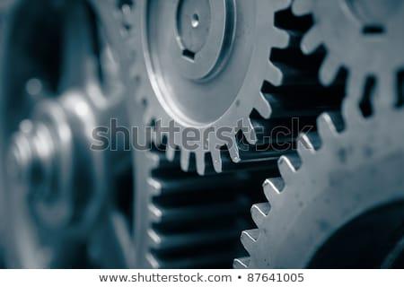 technological revival on metal gears stock photo © tashatuvango