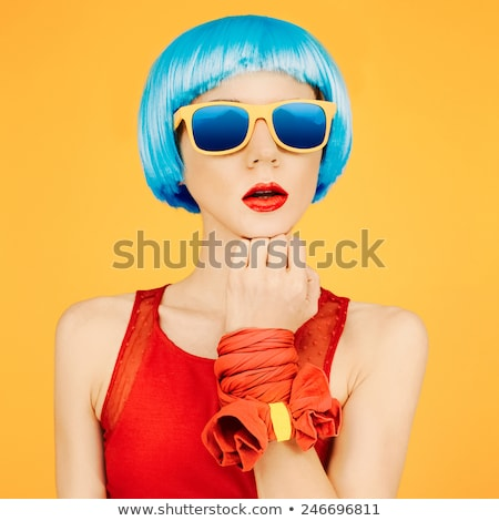 pink ladies sunglasses stock photo © netkov1