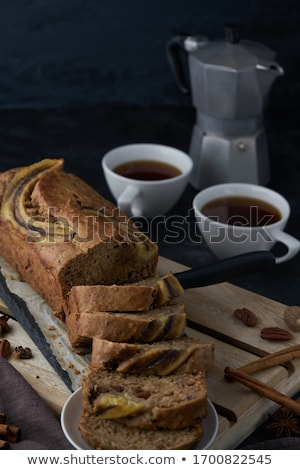 slices of fruitcake stock photo © digifoodstock