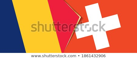 Switzerland and Chad Flags Stock photo © Istanbul2009