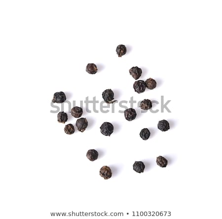 black papper background Stock photo © shutswis