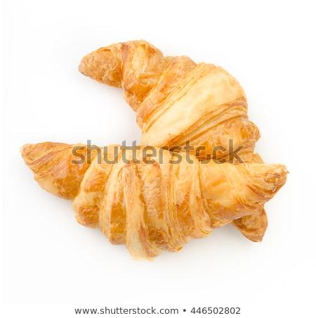 один катиться хлеб изолированный белый продовольствие Сток-фото © shutswis