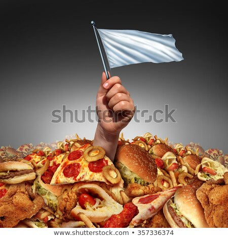 Junk Food Surrender Stock photo © Lightsource