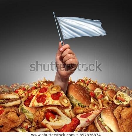 egészség · étel · szabadság · diéta · zöld · zöldségek - stock fotó © lightsource
