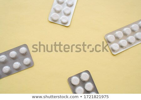 Four tablets in one pack Stock photo © bluering