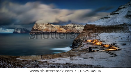 the islands kalsoy and kunoy on the faroe islands stock photo © arrxxx