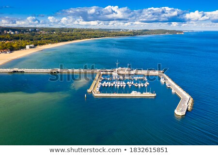 ahşap · iskele · gökyüzü · doğa · köprü · tekne - stok fotoğraf © kirill_m