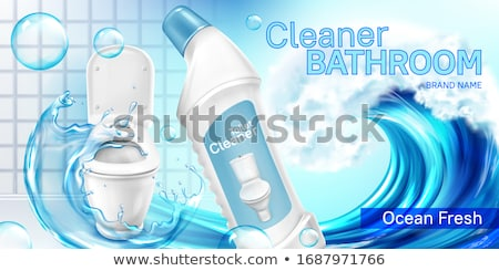 toilet cleaner Stock photo © PaZo