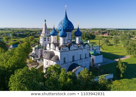 Aerial view on kremlin in Suzdal, Russia Stock photo © Mikko