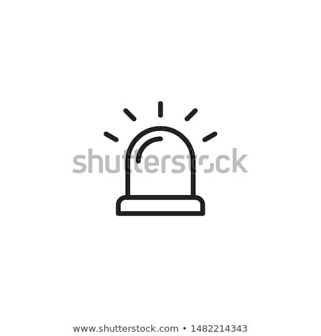 чрезвычайных иконки веб Кнопки изолированный белый Сток-фото © Oakozhan