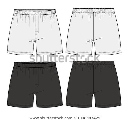 Ondergoed bokser shorts witte kinderen Stockfoto © RuslanOmega