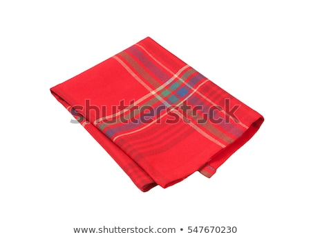 red and blue place mat Stock photo © Digifoodstock