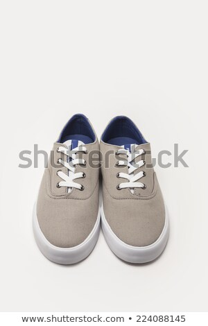 beautiful sole of modern sneakers on a white background Stock photo © kayros