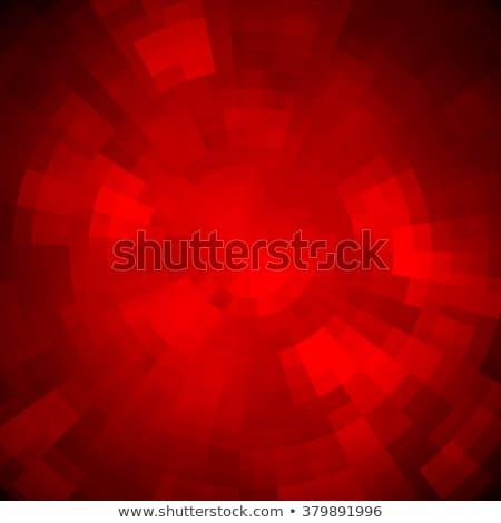 Abstract mozaiek patroon retro zonlicht Stockfoto © fresh_5265954