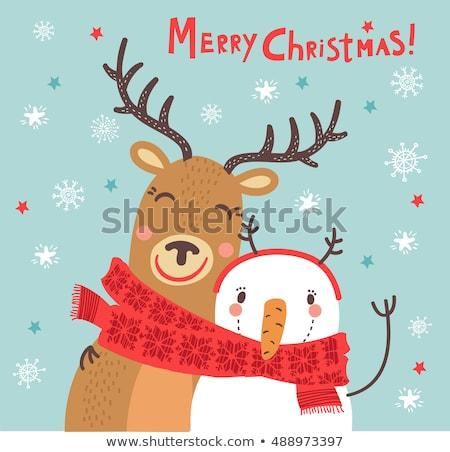 Karácsony jókedv szett ajándékok mikulás különböző Stock fotó © Fisher