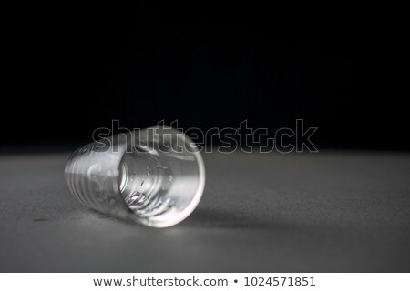 空っぽ · ガラス · ウイスキー · 孤立した · 白 · パーティ - ストックフォト © cipariss