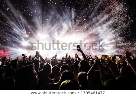 müzisyenler · müzik · konser · gece · kulübü · parti - stok fotoğraf © wavebreak_media