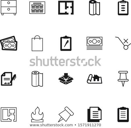 cartão · ilustração · 3d · arquivo · branco · pc - foto stock © tashatuvango
