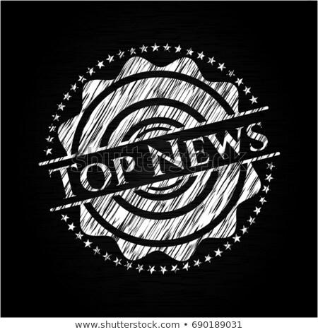 újság · főcím · üzlet · pénzügy · iroda · pénz - stock fotó © tashatuvango